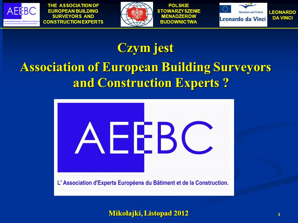 Association of European Building Surveyors and Construction Experts