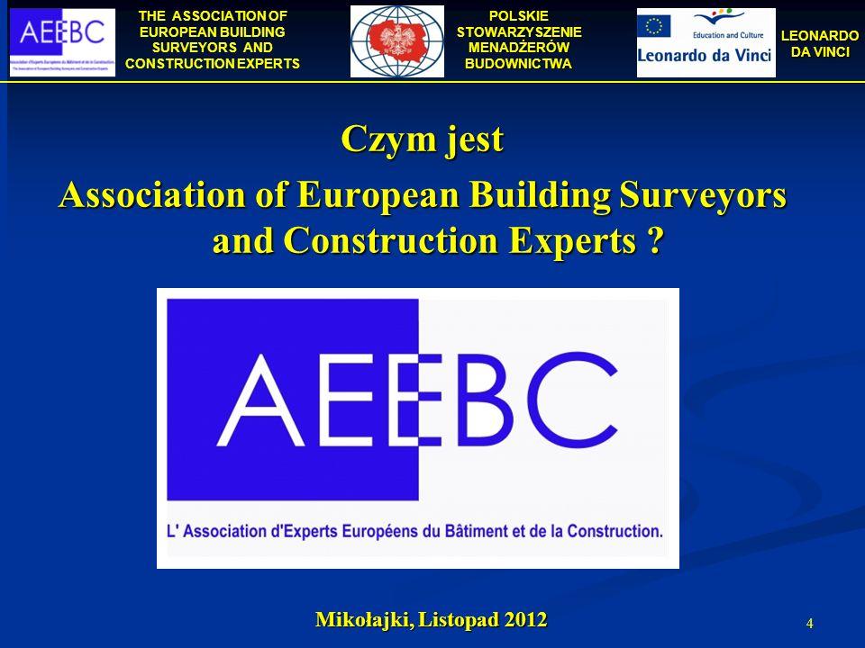 Association of European Building Surveyors and Construction Experts