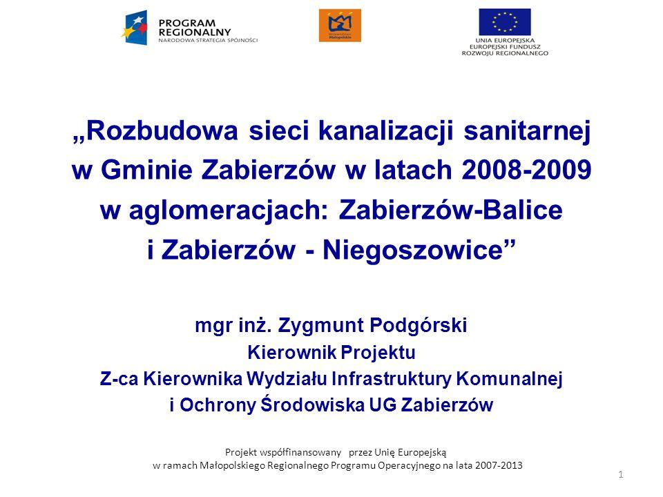 """""""Rozbudowa sieci kanalizacji sanitarnej"""