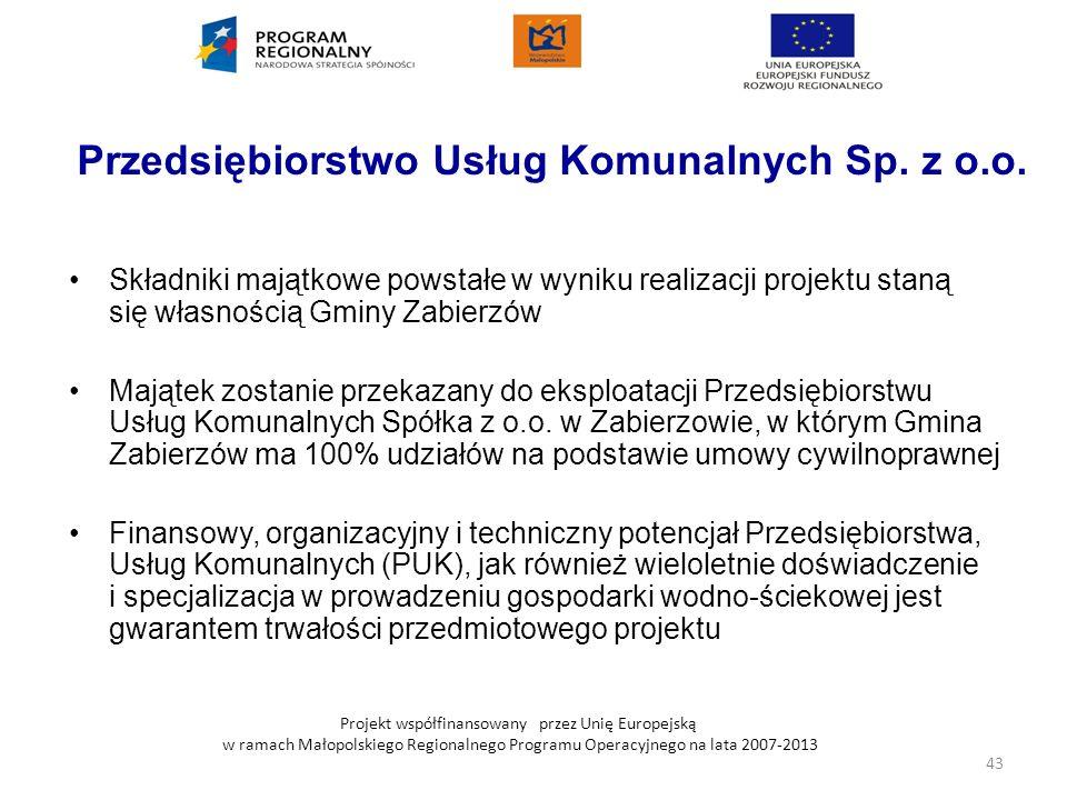 Przedsiębiorstwo Usług Komunalnych Sp. z o.o.