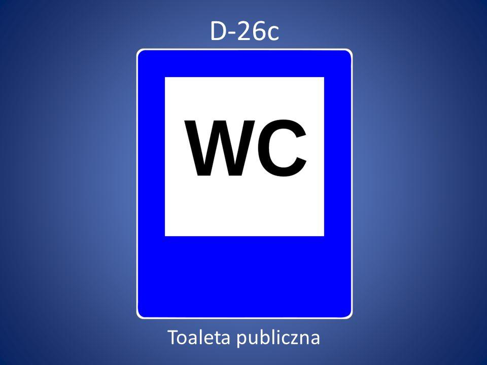 D-26c Toaleta publiczna
