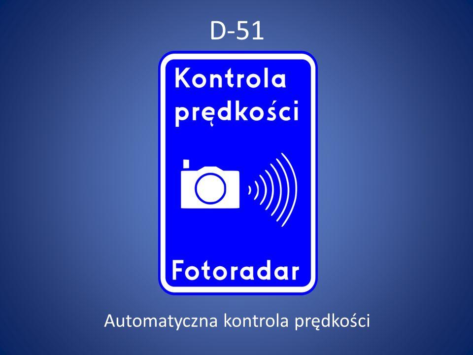 Automatyczna kontrola prędkości