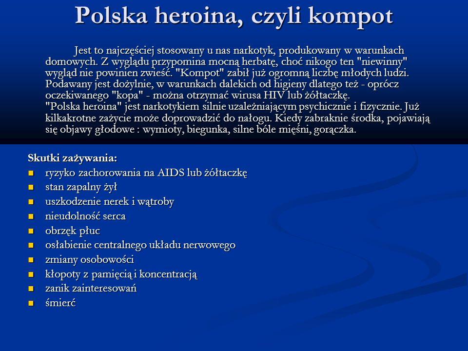 Polska heroina, czyli kompot