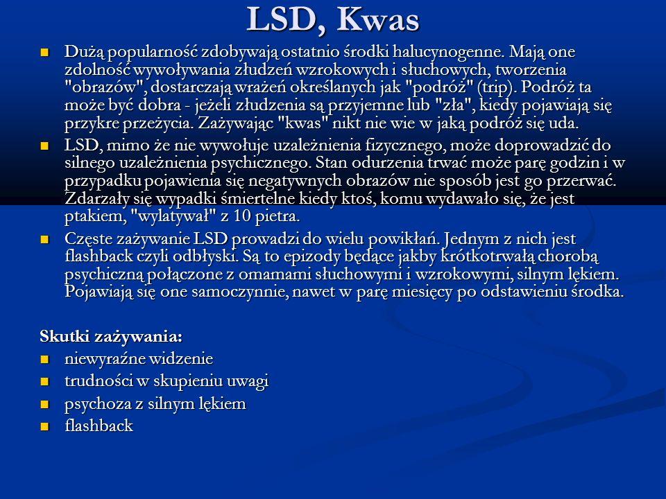 LSD, Kwas