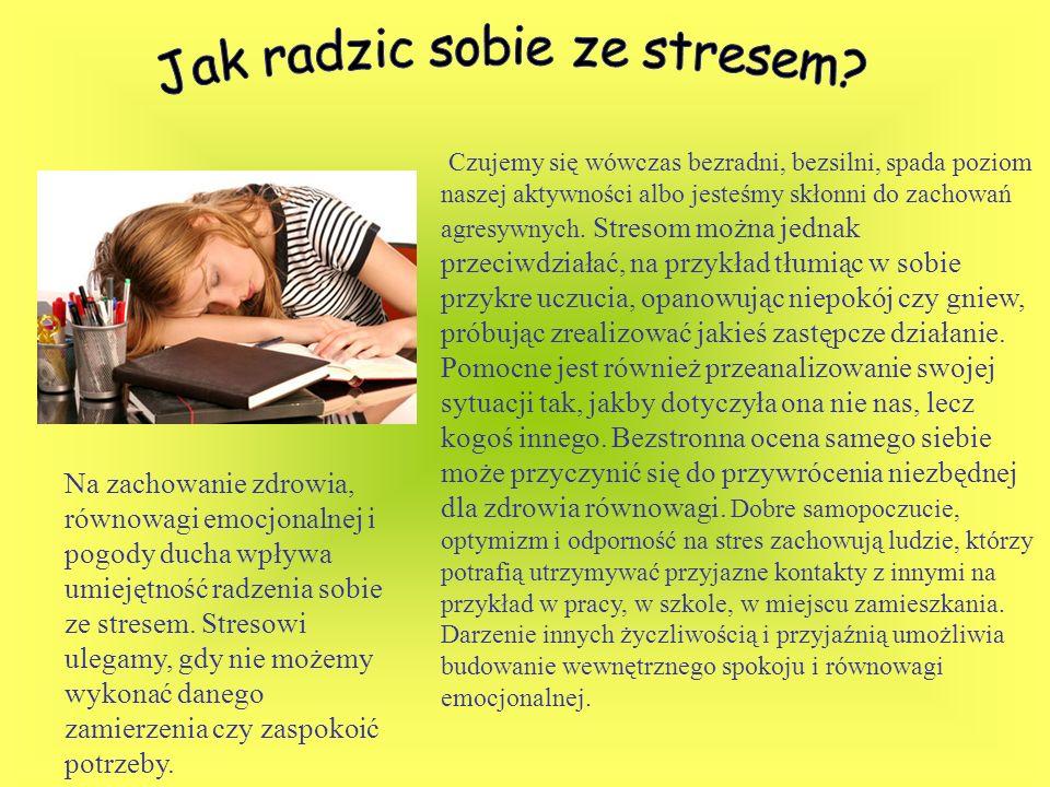 Jak radzic sobie ze stresem