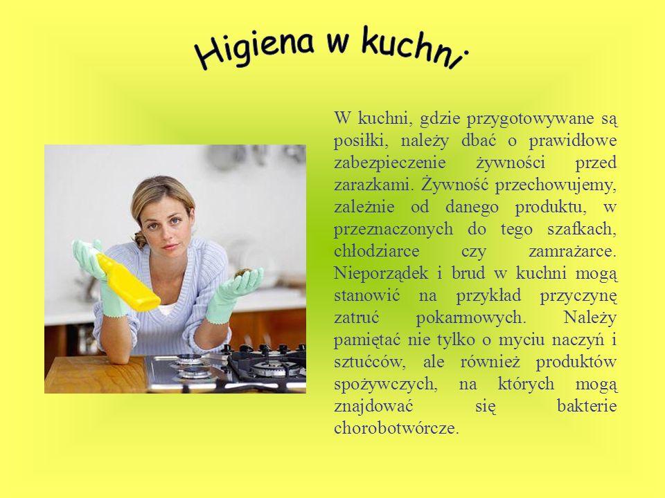 Higiena w kuchni