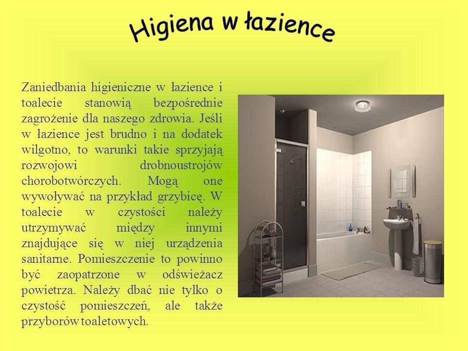 Higiena w łazience