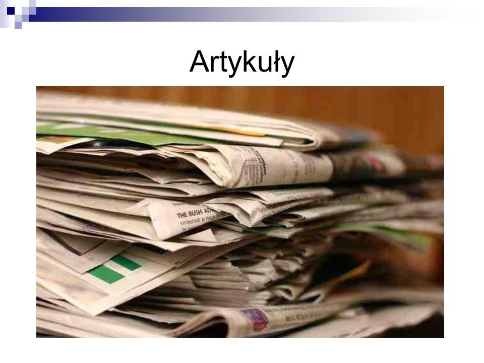 Artykuły