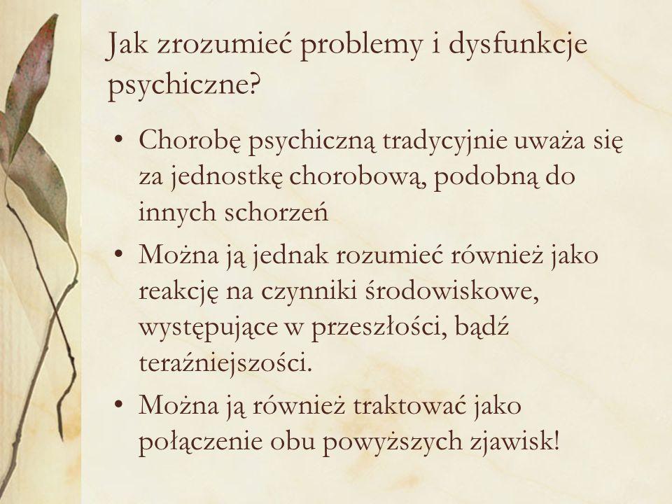 Jak zrozumieć problemy i dysfunkcje psychiczne