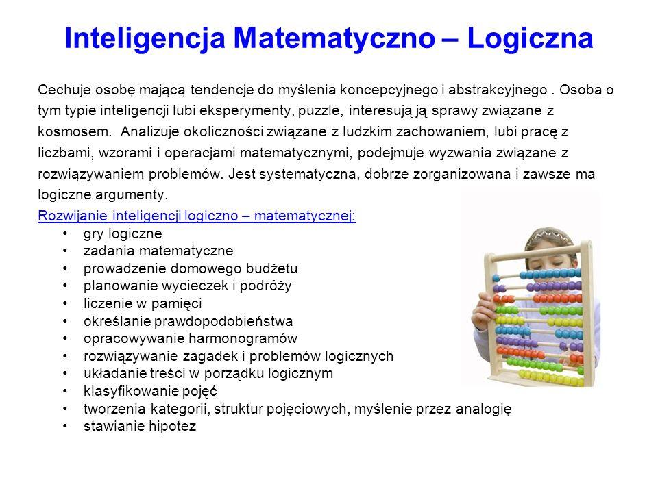 Inteligencja Matematyczno – Logiczna