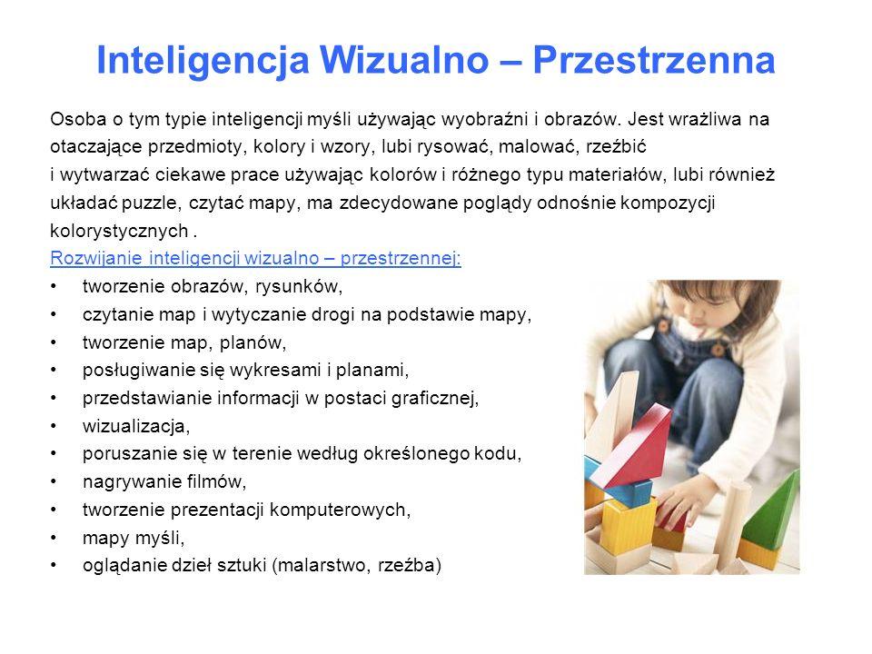 Inteligencja Wizualno – Przestrzenna