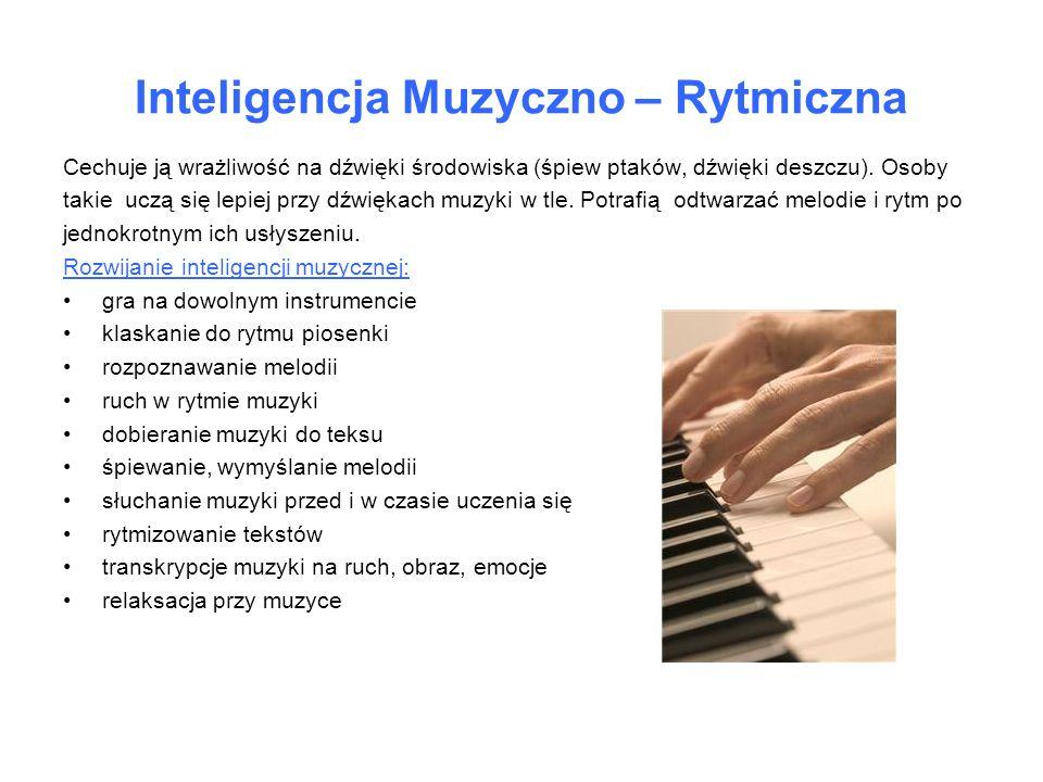 Inteligencja Muzyczno – Rytmiczna
