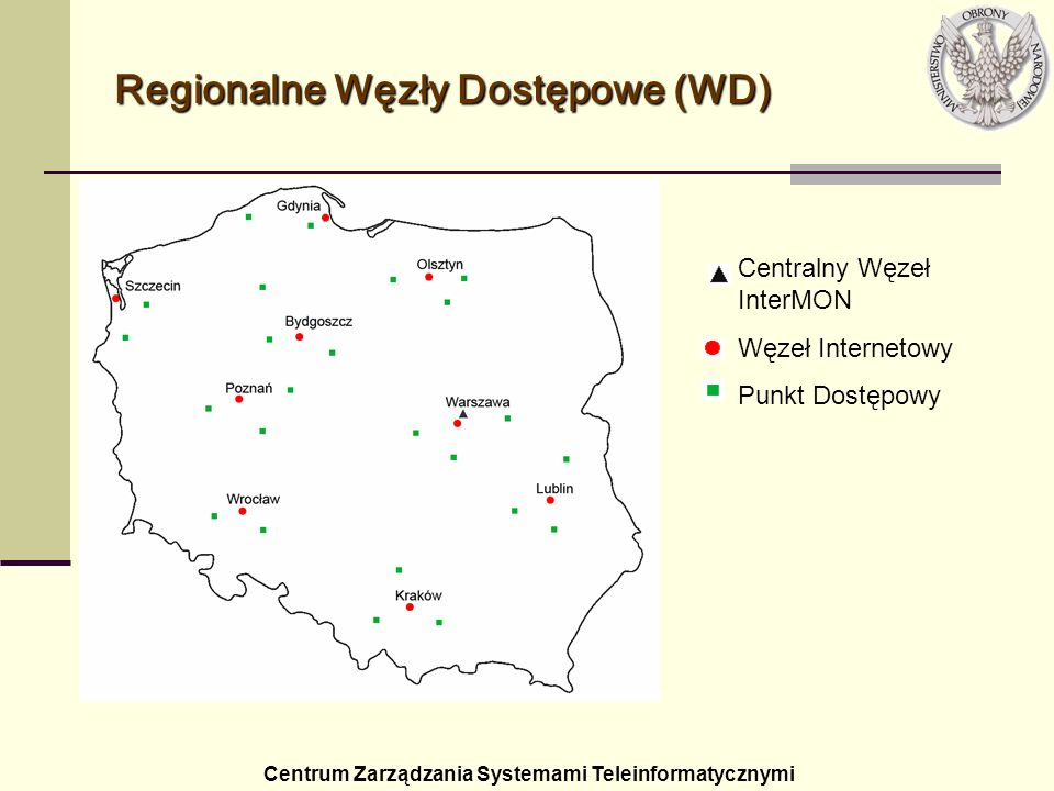 Regionalne Węzły Dostępowe (WD)