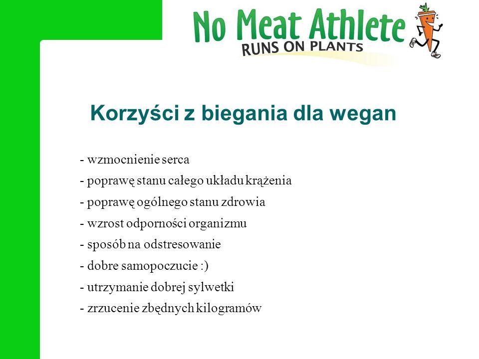 Korzyści z biegania dla wegan