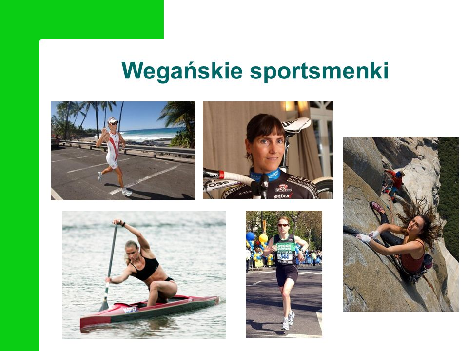Wegańskie sportsmenki