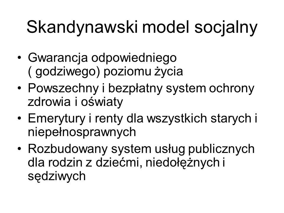 Skandynawski model socjalny