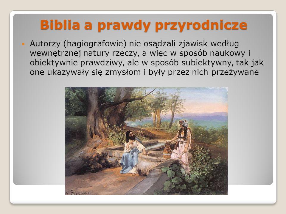 Biblia a prawdy przyrodnicze