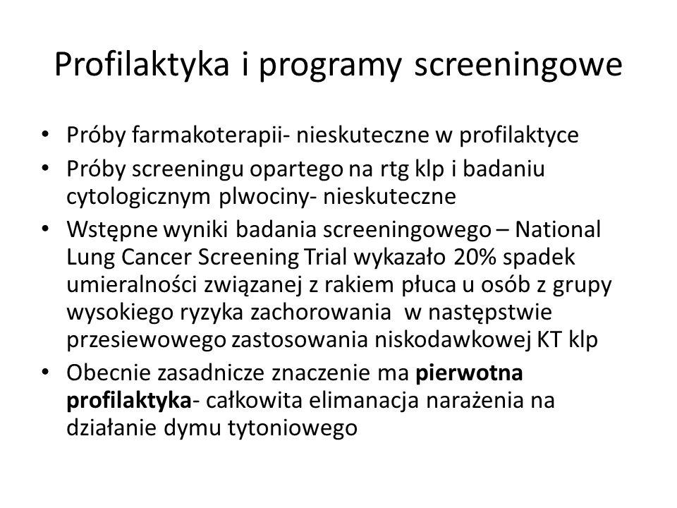Profilaktyka i programy screeningowe
