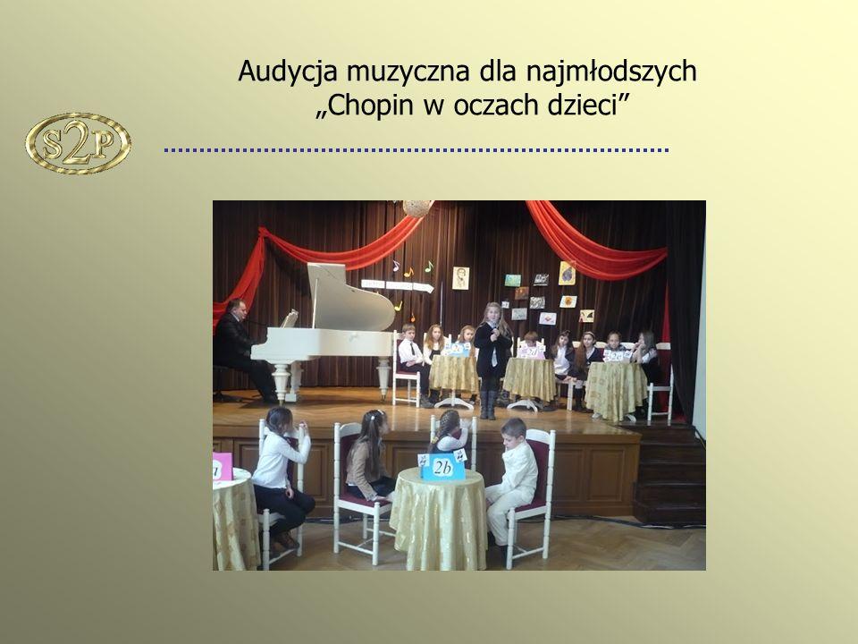 """Audycja muzyczna dla najmłodszych """"Chopin w oczach dzieci"""