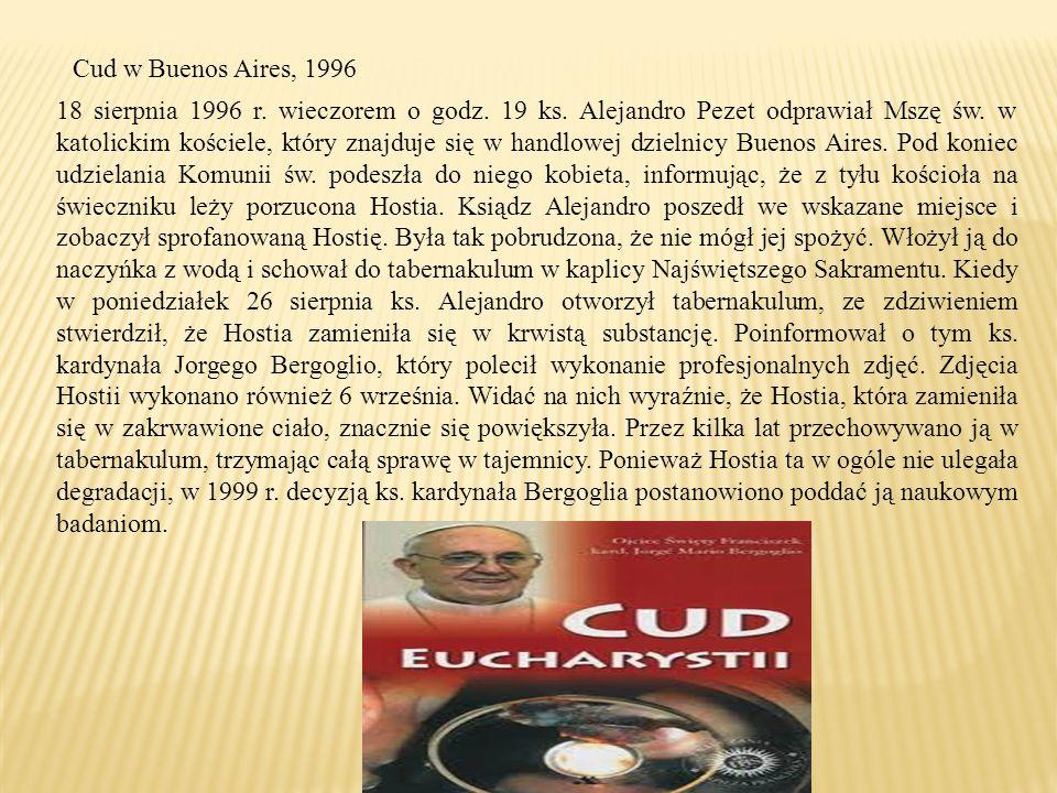 Cud w Buenos Aires, 1996
