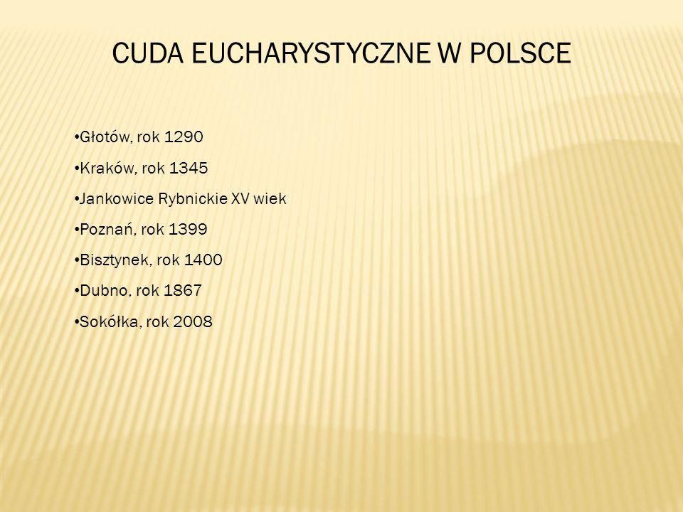 CUDA EUCHARYSTYCZNE W POLSCE