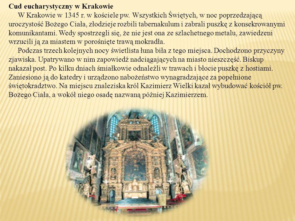 Cud eucharystyczny w Krakowie