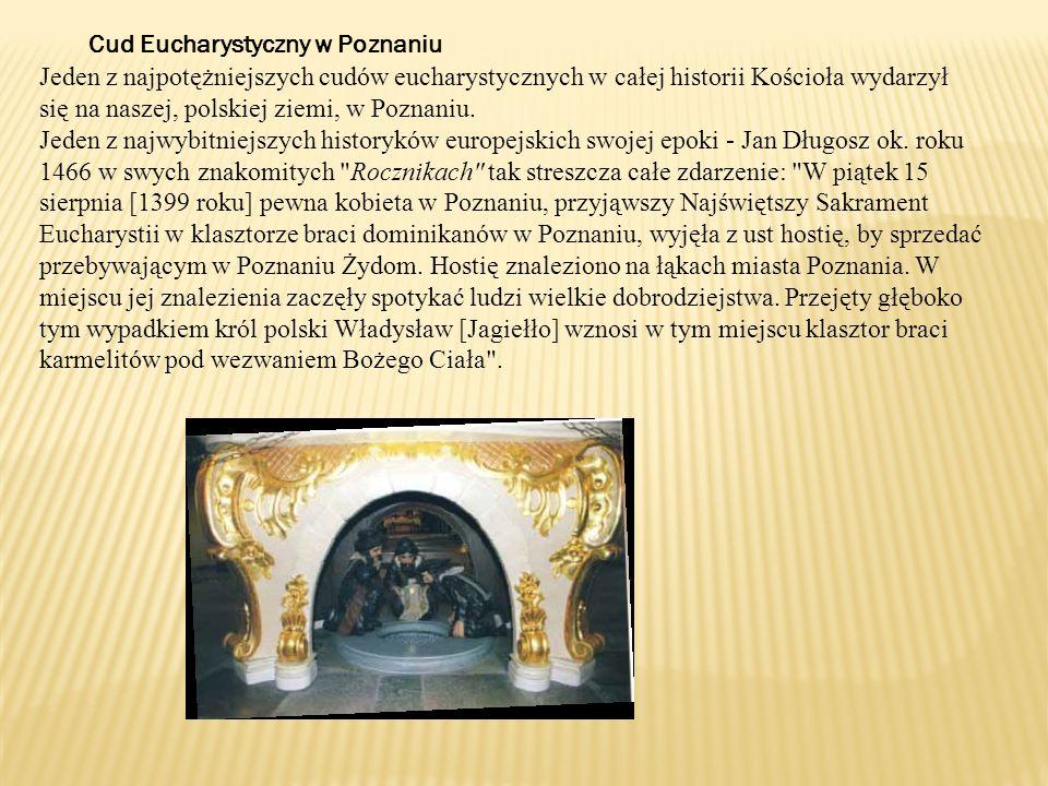 Cud Eucharystyczny w Poznaniu
