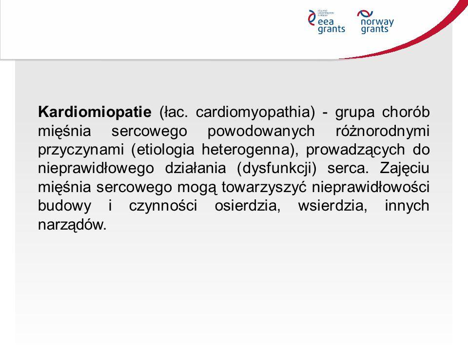 Kardiomiopatie (łac.