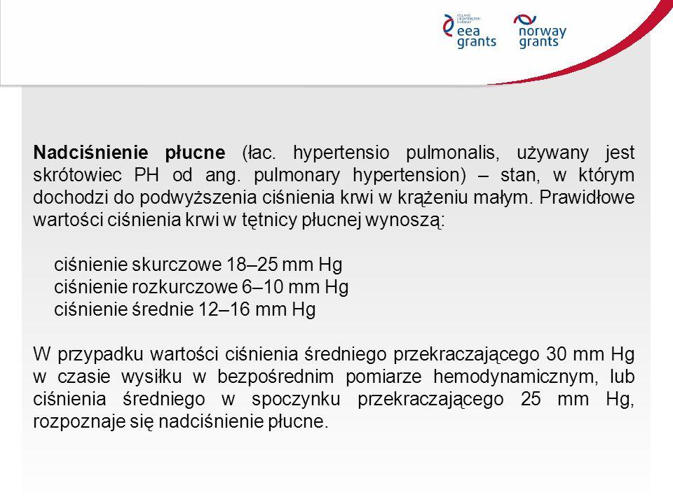 Nadciśnienie płucne (łac