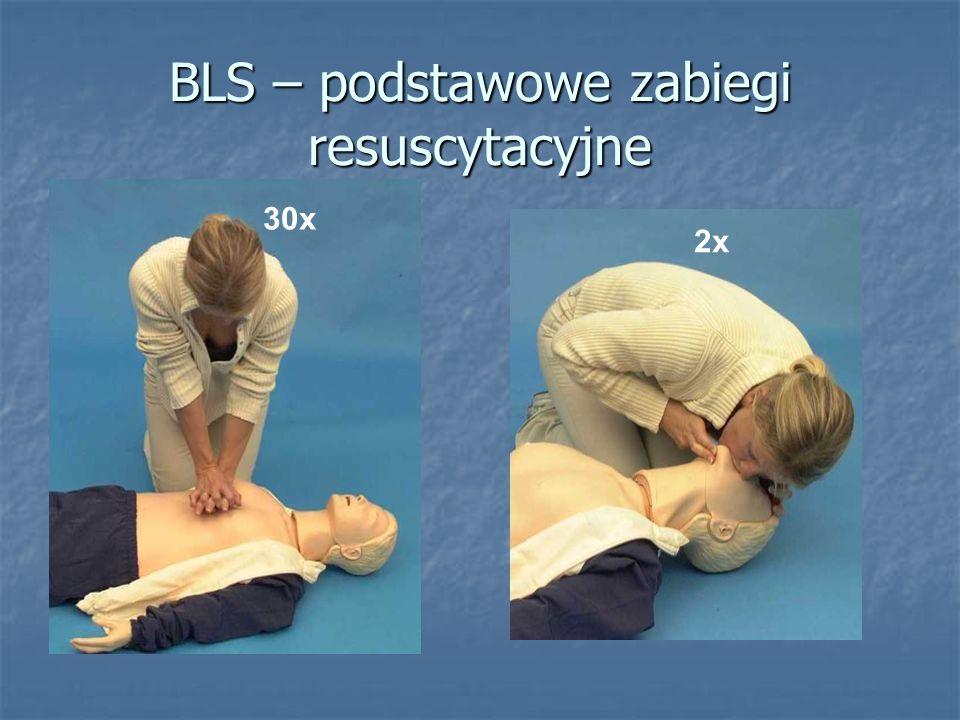 BLS – podstawowe zabiegi resuscytacyjne