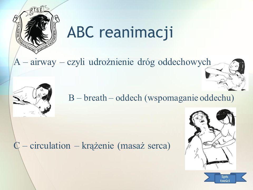 ABC reanimacji A – airway – czyli udrożnienie dróg oddechowych