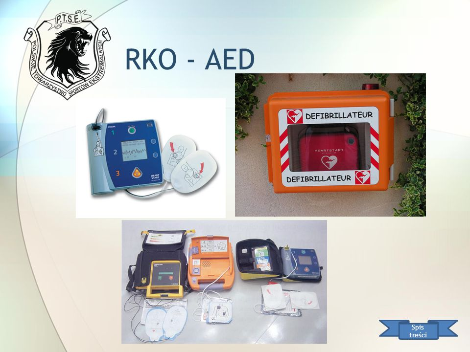 RKO - AED Spis treści