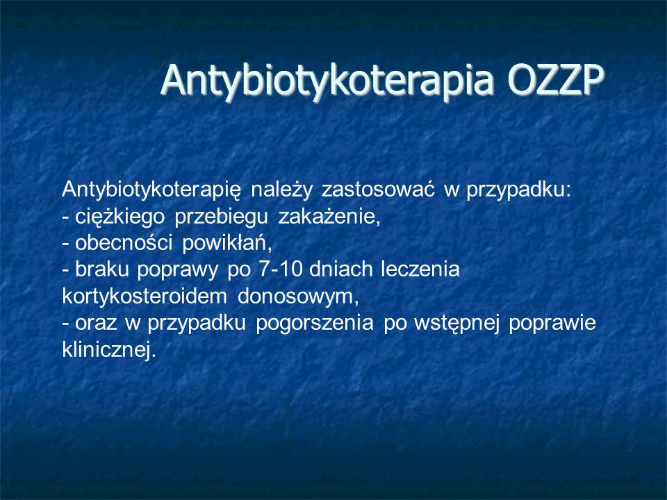 Antybiotykoterapia OZZP