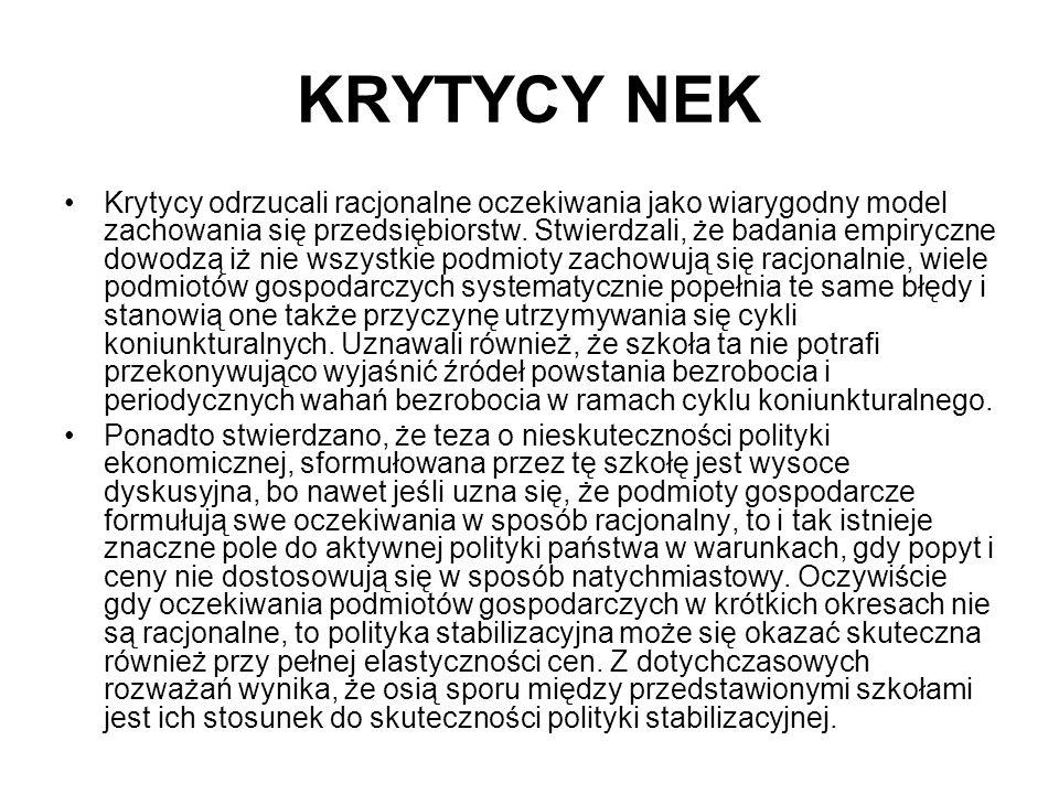 KRYTYCY NEK