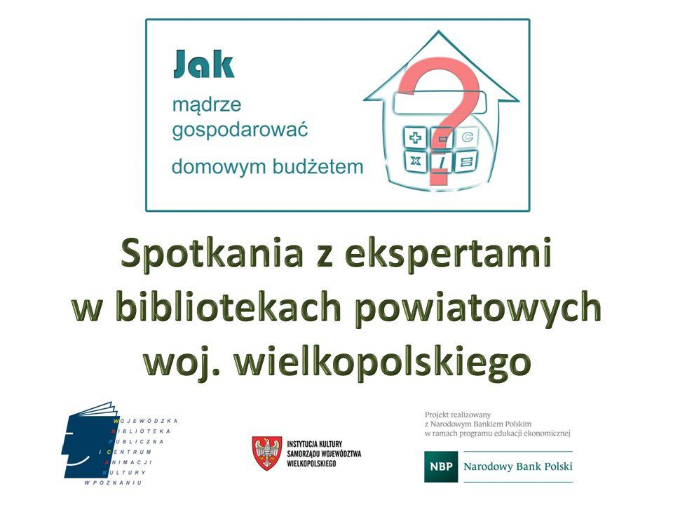 Spotkania z ekspertami w bibliotekach powiatowych woj. wielkopolskiego