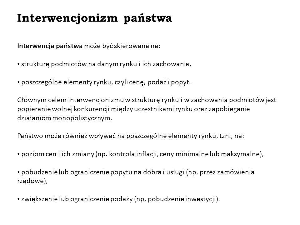 Interwencjonizm państwa