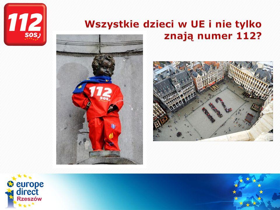 Wszystkie dzieci w UE i nie tylko znają numer 112