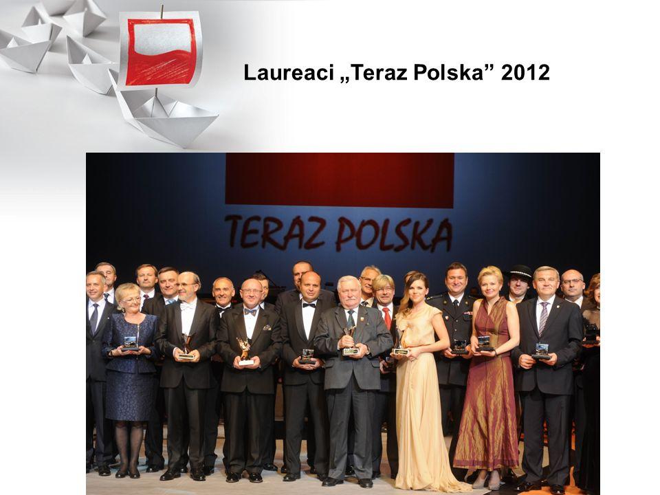 """Laureaci """"Teraz Polska 2012"""