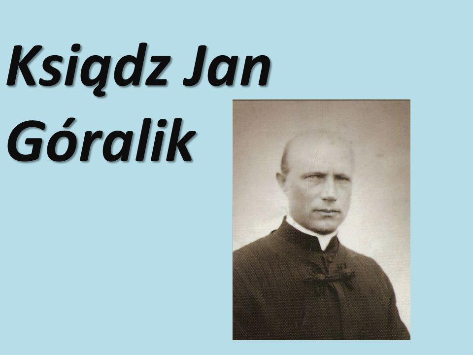 Ksiądz Jan Góralik