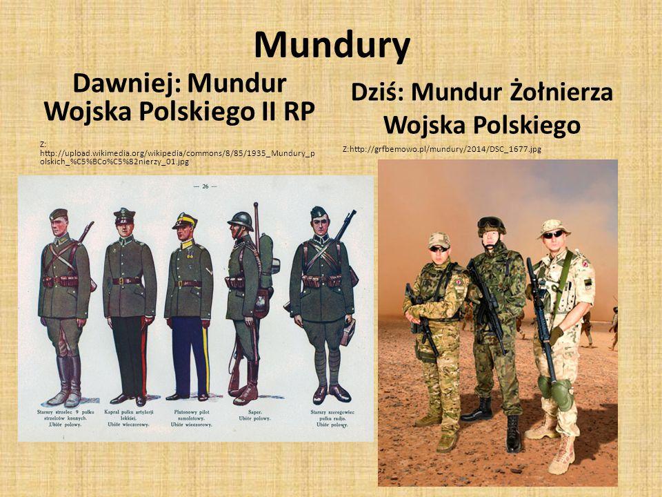Mundury Dawniej: Mundur Wojska Polskiego II RP