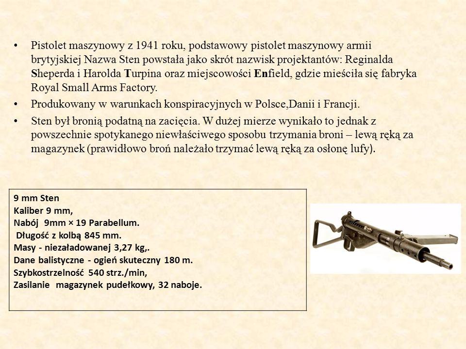 Produkowany w warunkach konspiracyjnych w Polsce,Danii i Francji.