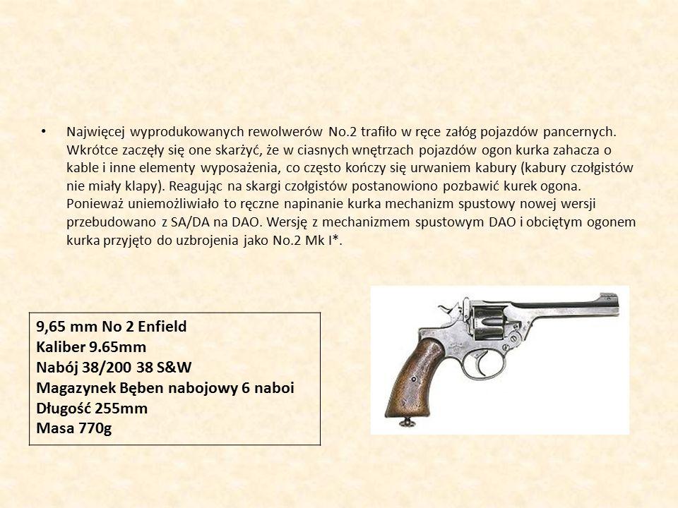 Magazynek Bęben nabojowy 6 naboi Długość 255mm Masa 770g