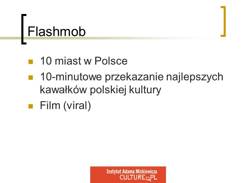 Flashmob 10 miast w Polsce