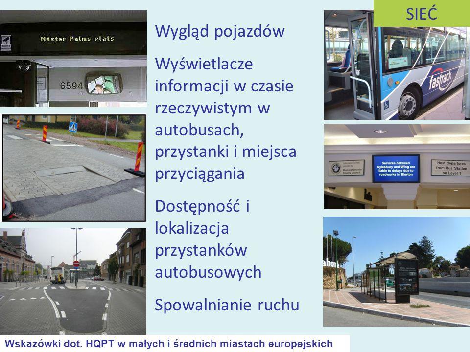 Dostępność i lokalizacja przystanków autobusowych