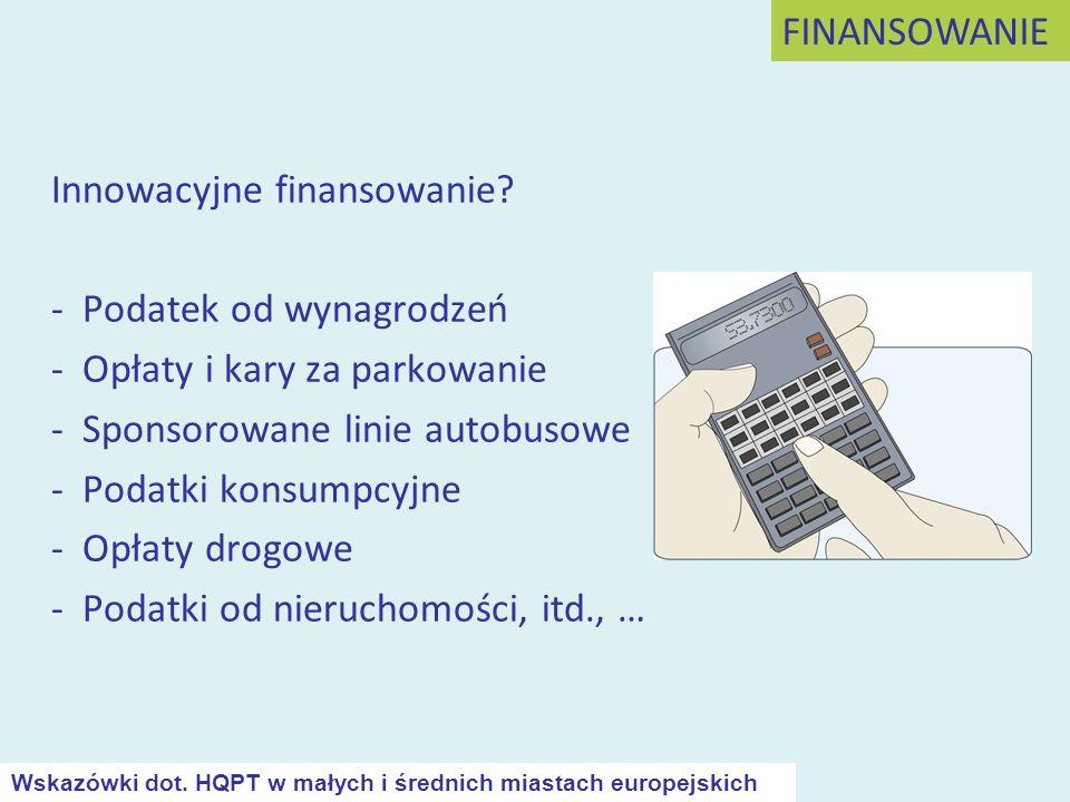 Innowacyjne finansowanie - Podatek od wynagrodzeń