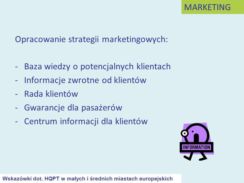 Opracowanie strategii marketingowych: