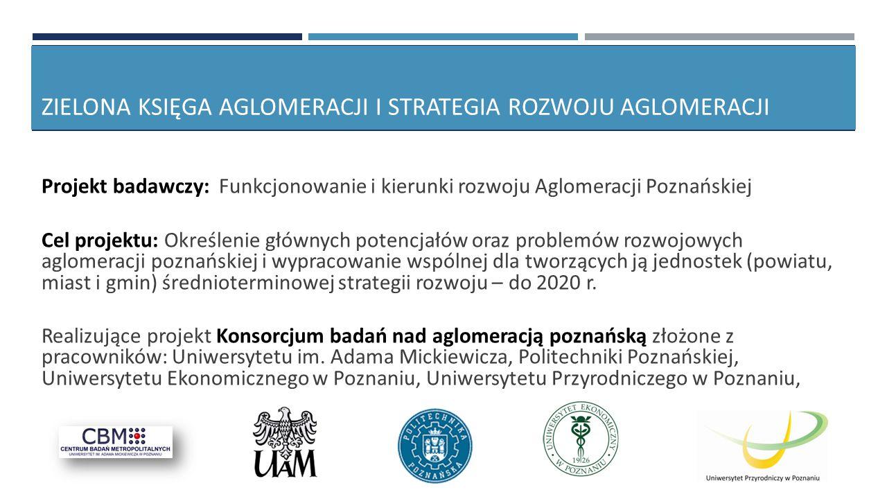 Zielona Księga Aglomeracji i Strategia Rozwoju Aglomeracji