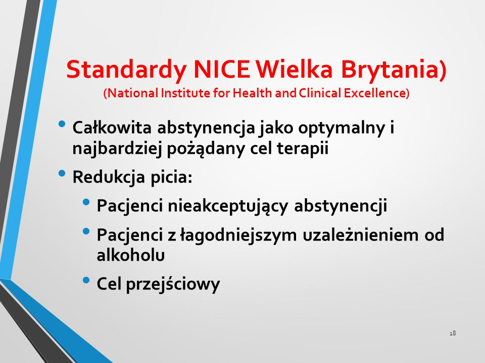 Standardy NICE Wielka Brytania) (National Institute for Health and Clinical Excellence)