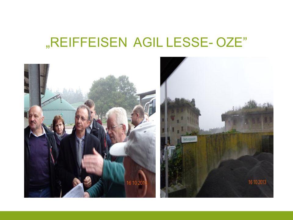 """""""Reiffeisen agil lesse- oze"""