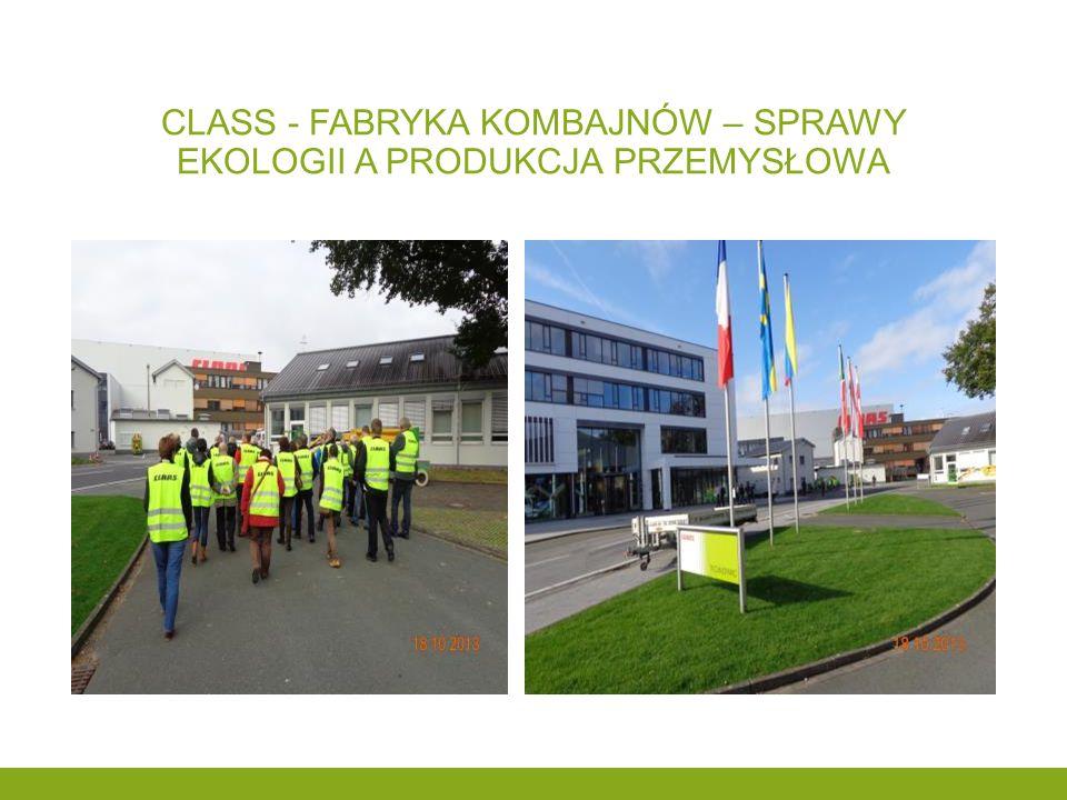 Class - fabryka kombajnów – sprawy ekologii a produkcja przemysłowa